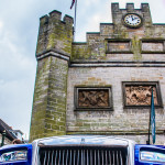 Rolls Royce in front of the Town Hall